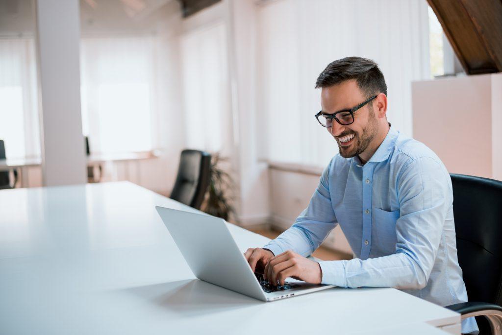 HotHealth Website Engagement Laptop