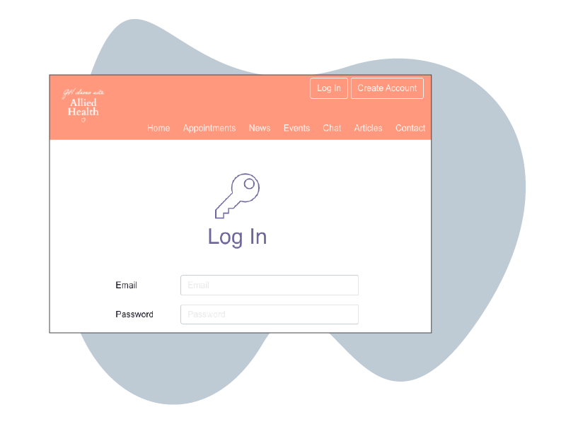 HotHealth Video Login security