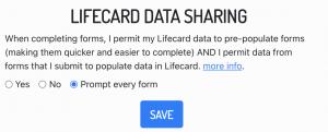HotHealth: Lifecard Toggle